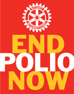 Click to see more about the West Liberty club's involvement in eradicating polio worldwide.