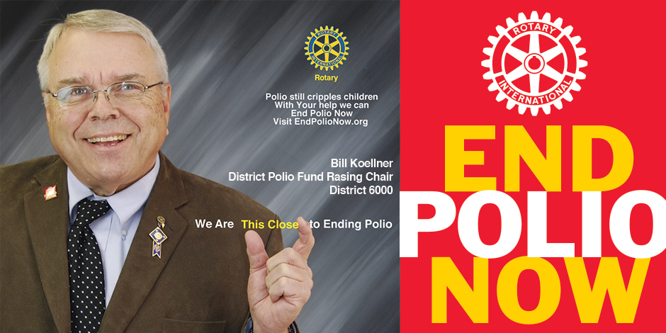This Close to Ending Polio - Bill Koellner